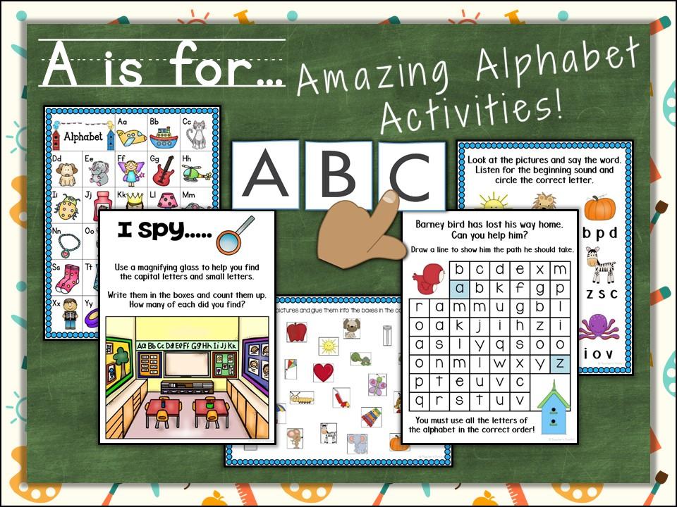 Alphabet: Alphabet Activities