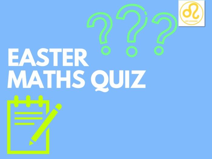 Easter Maths Quiz