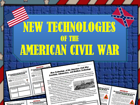 American Civil War: Technology that Shaped the War: Ironclads, Telegraphs, More!