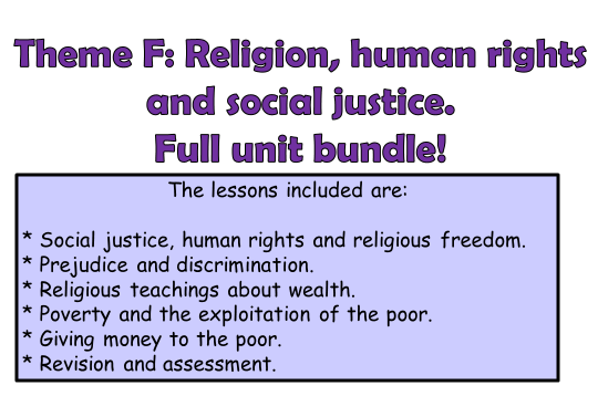 AQA A GCSE Religious Studies Theme F Full Unit!