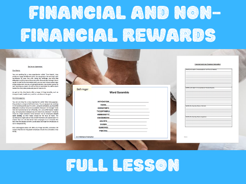 2.1.2 Financial and non-financial rewards
