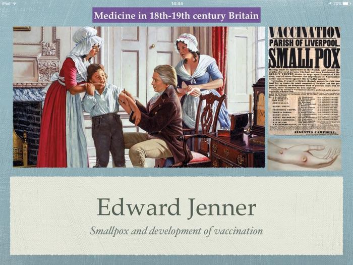 GCSE History of Medicine. 18th 19th Century. Edward Jenner.