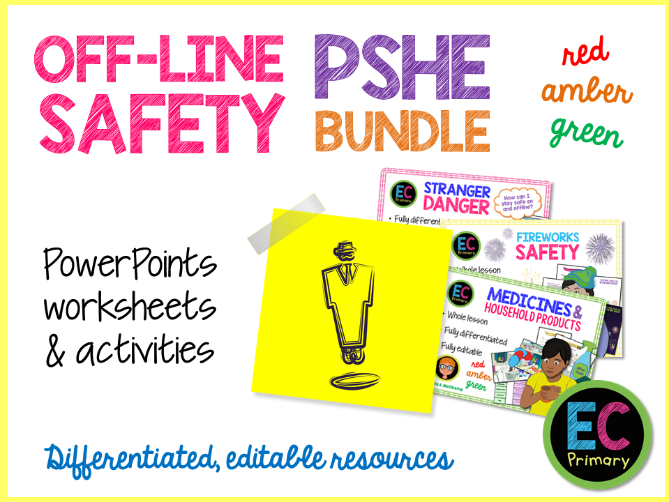 Off-Line Safety Primary PSHE