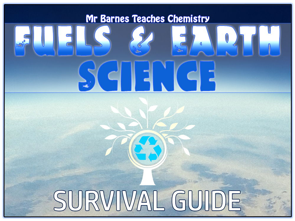 Fuels and Earth Science Survival Guide