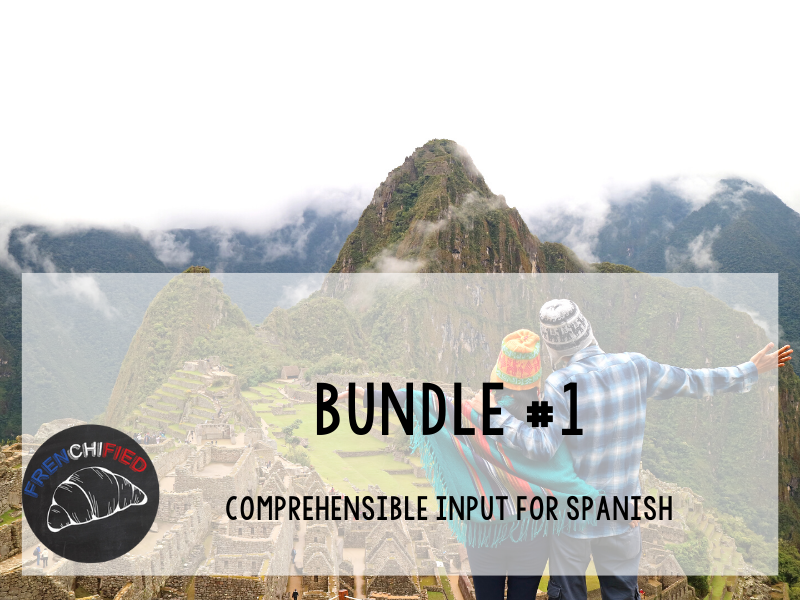 CI Video for Spanish learners - Bundle #1