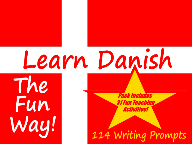 114 Danish Writing Worksheets For Writing Practice + 31 Fun Teaching Activities To Try In Class