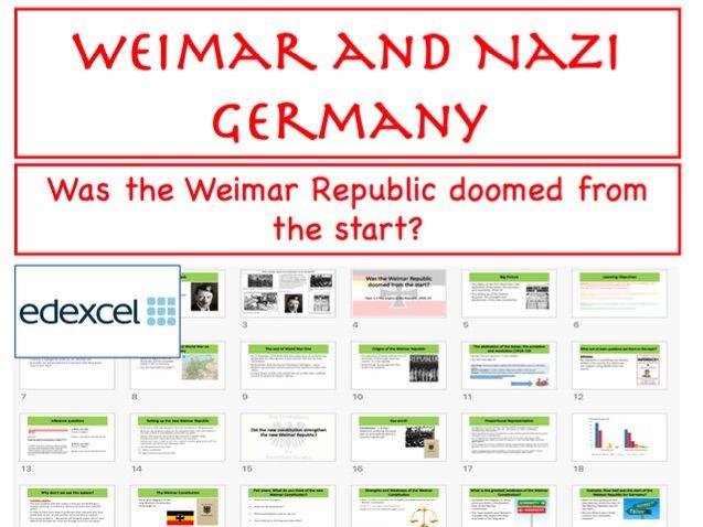 Origins of the Weimar Republic