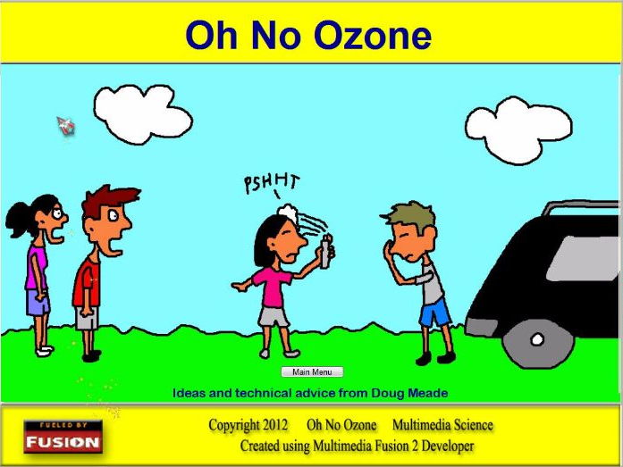 Oh No Ozone Software - The Chemistry of Ozone Depletion