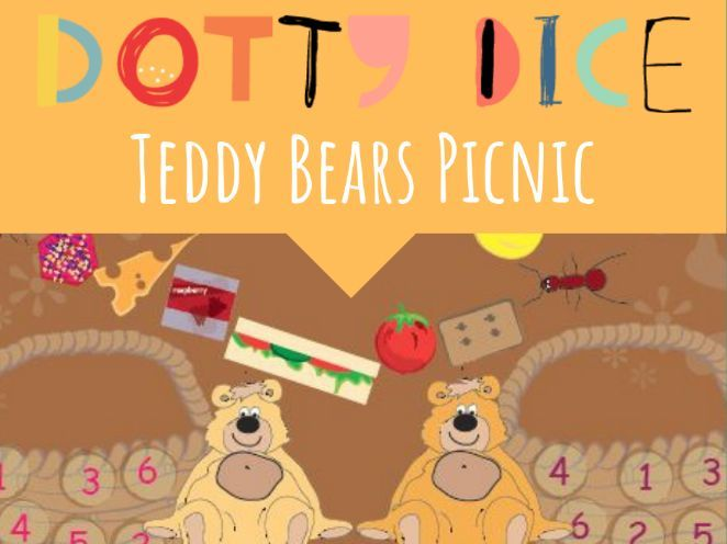Geometry Board Game - Teddy Bears Picnic - Classify 2D shapes