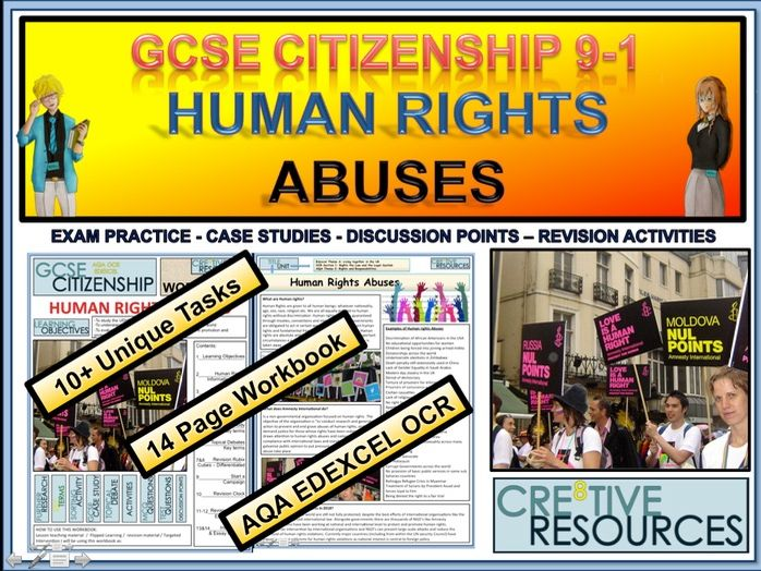 GCSE Citizenship 9-1 Work Booklet - Human Rights Abuses