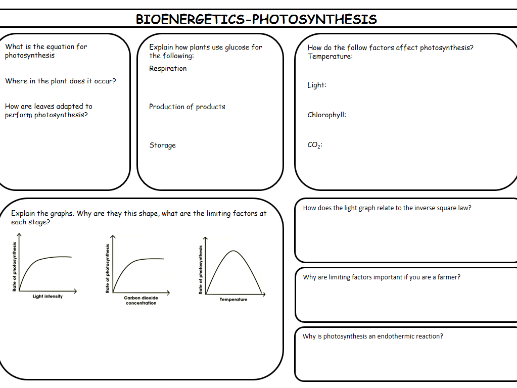 New Spec AQA Biology Paper 1 Revision bundle