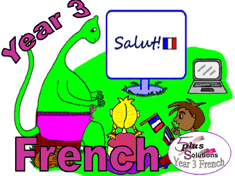 Primary French LEARNING MATS: Year 3 French