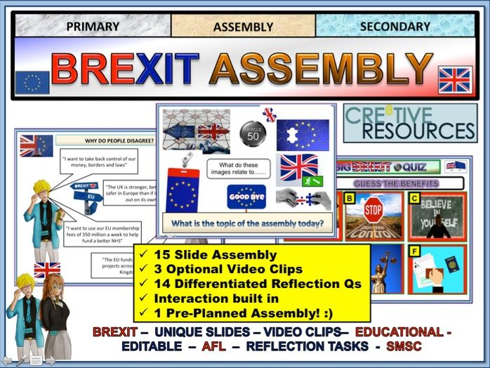 Assembly - Brexit