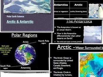 Polar Regions - Arctic and Antarctic