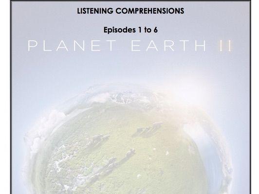 Listening Comprehension - Planet Earth 2 (Season 2 Bundle)