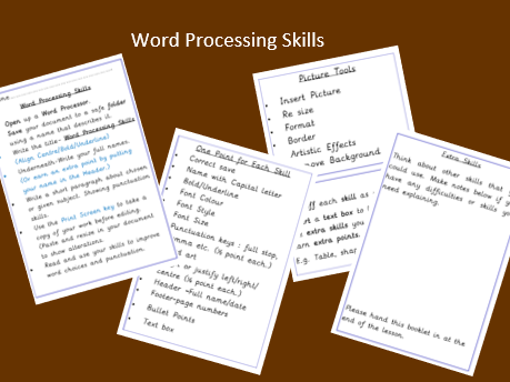 Introduction to Word Processing Skills in Microsoft Word , Google Docs or similar.