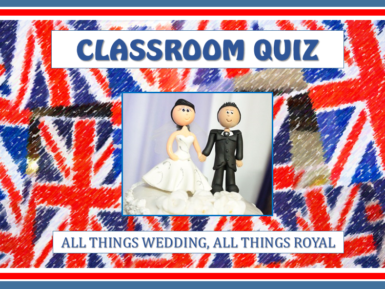 Royal Wedding Quiz Harry Meghan