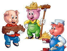 Three little pigs story SEN