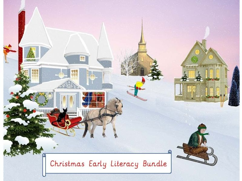 Christmas Early Literacy Bundle
