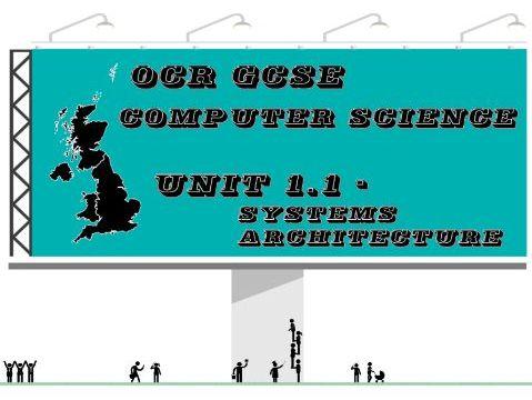 OCR GCSE Computer Science Unit 1.1 Systems Architecture (Key vocabulary list)