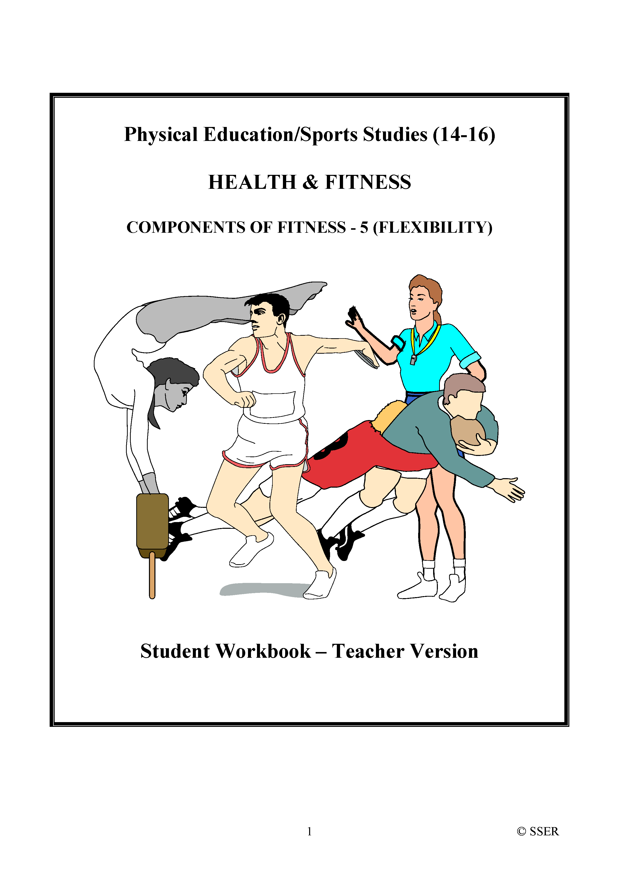 PE307ST - Components of Fitness - 5 (Flexibility) WS