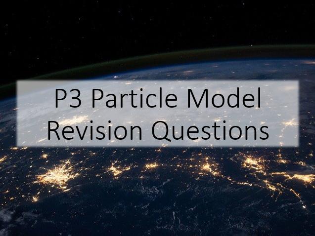 GCSE Physics Particle Model Revision