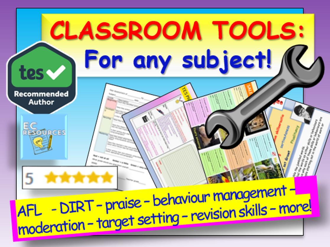 Classroom Tools Mega Bundle