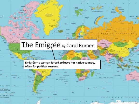 The Emigree - by Carol Rumens (Video text with analysis)