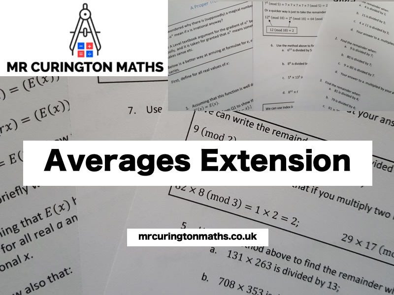 Averages Extension