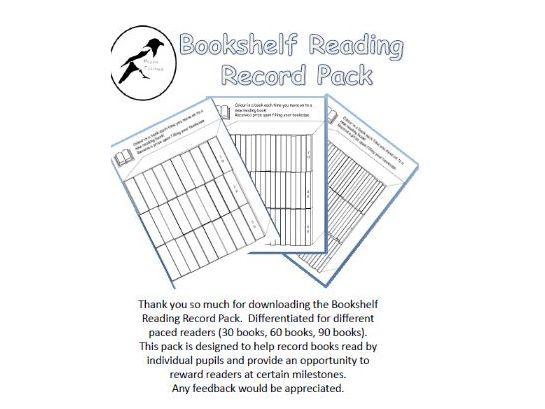 Bookshelf Reading Record
