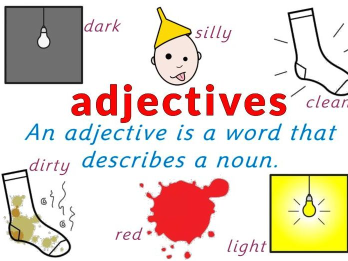 Adjective Worksheet Pack Teaching Resources