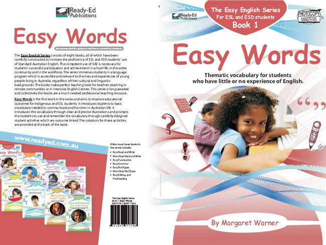 Easy English Book 1: Easy Words (Australian E-book for ESL and At Risk Students)