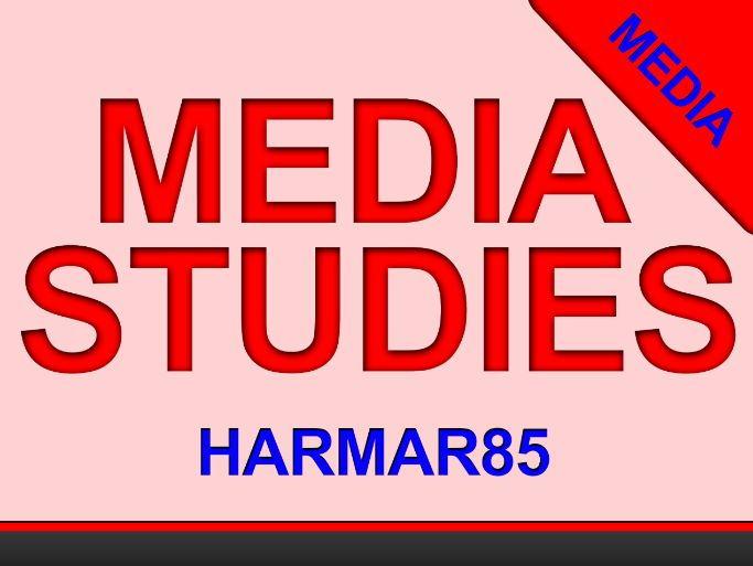 INDIVIDUAL LESSON - MEDIA LANGUAGE - Narrative Structure - GCSE