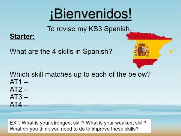 Module 1: Edexcel Spanish 9-1