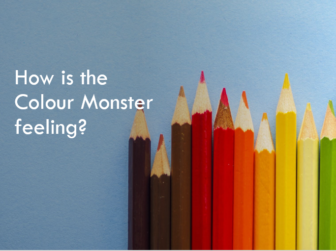 How is the Colour Monster Feeling? PPT