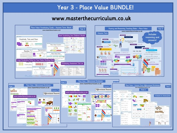 Year 3 - Place Value Bundle