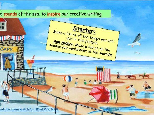 Creative Writing Seaside