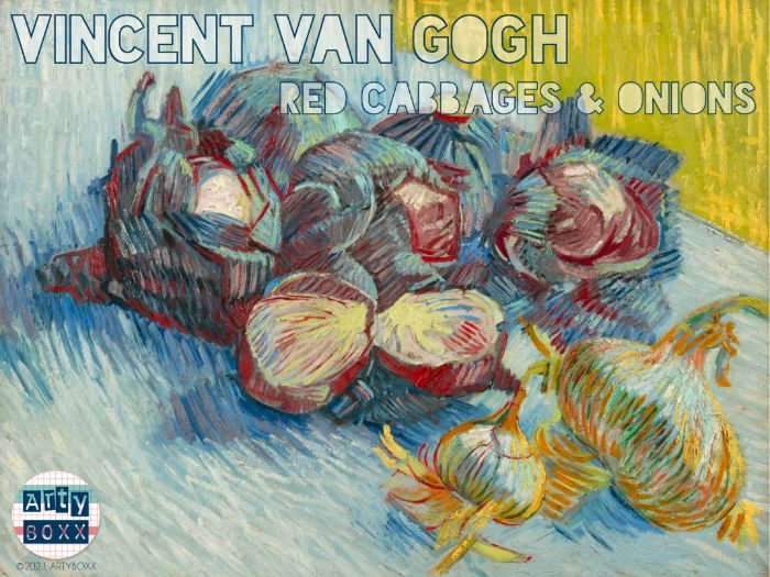 VINCENT VAN GOGH - Analysis and Mark Making Study