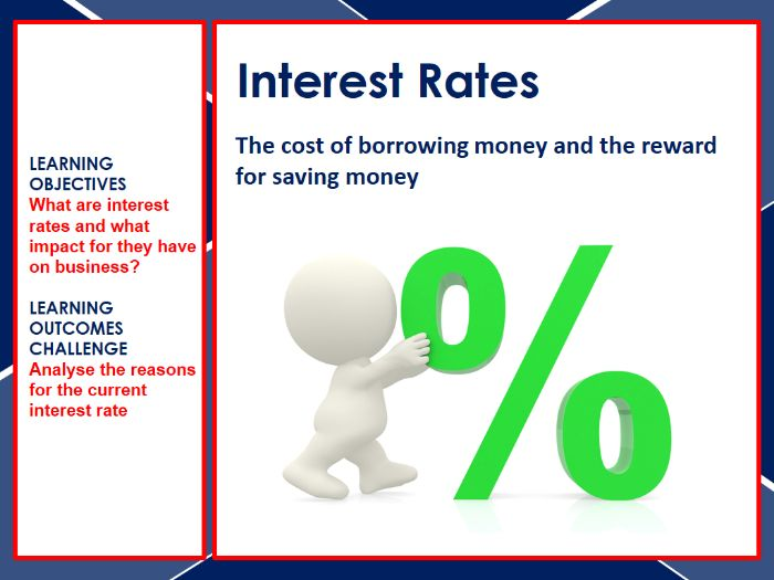 Interest rates and the economy PowerPoint