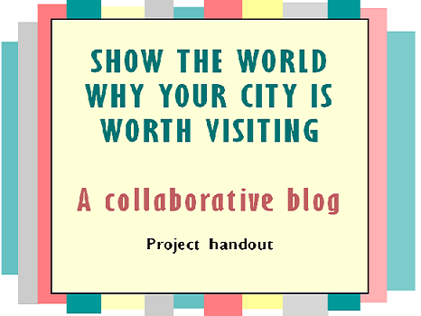 Show the world why your city is worth visiting. A collaborative blog.