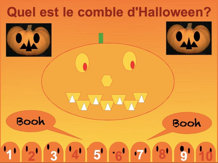 French- Le comble d'Halloween