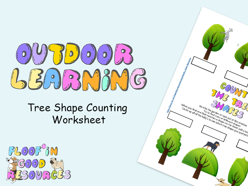 Outdoor Learning - Tree Observation and Counting Worksheet