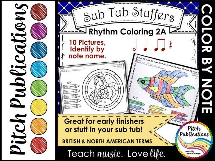 Primary musical theory and elements resources