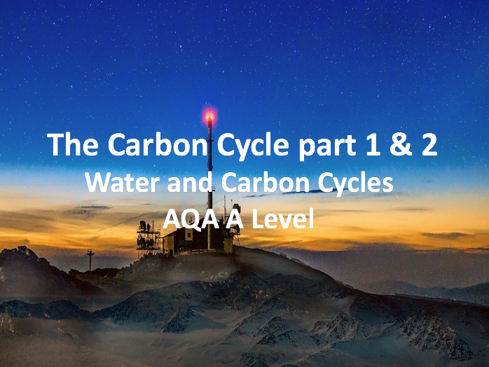 The Carbon Cycle - AQA A Level Geography