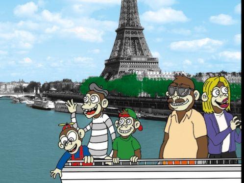 07A) Arthur visits Paris - le futur proche