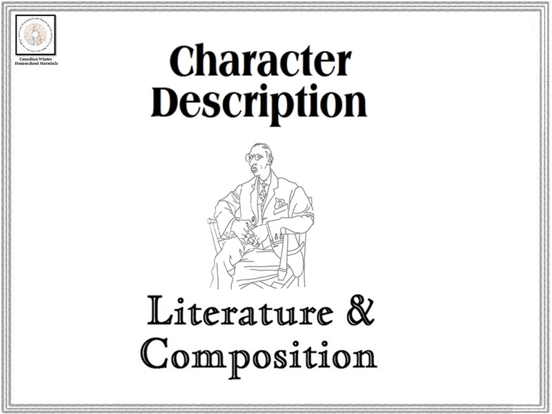 Character Description Literature & Composition