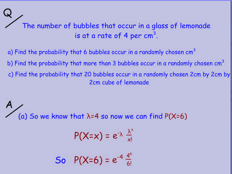 Poisson Distribution and Estimation using t-distribution