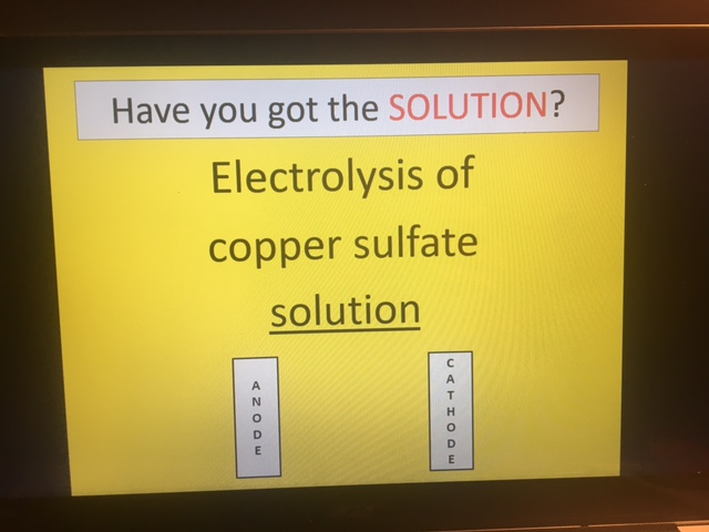 Cambridge IGCSE Chemistry Topic 5 REVISION (Electricity and Chemistry)