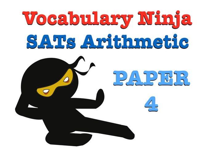 KS2 SATs Arithmetic Paper 4