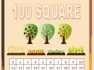 Harvest 100 Square